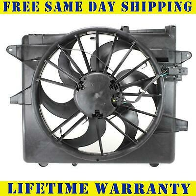 Fo3115152 Radiator Condenser Cooling Fan For Ford Fits Mustang