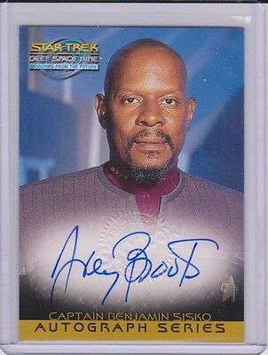 1999 Skybox Star Trek Deep Space Nine Avery Brooks Autograph Card A18
