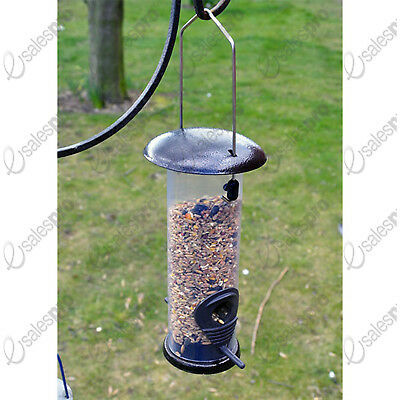 Kingfisher Hammertone Finish Bird SEED Feeder - Singles Or Multi Buy Deals