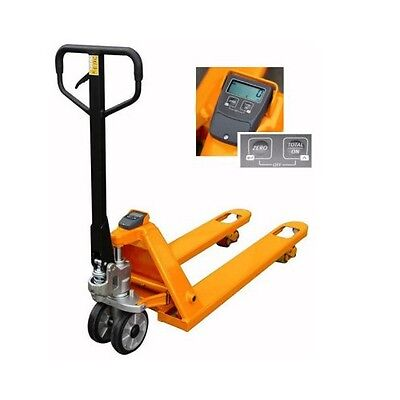 Pallet Pump Truck Scales 2000Kg x 5Kg - Best Price and Shipped from UK!