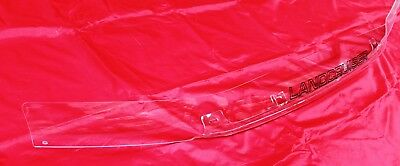 Toyota Landcruiser 100 Series Bonnet Protector Clear New Genuine Accessory