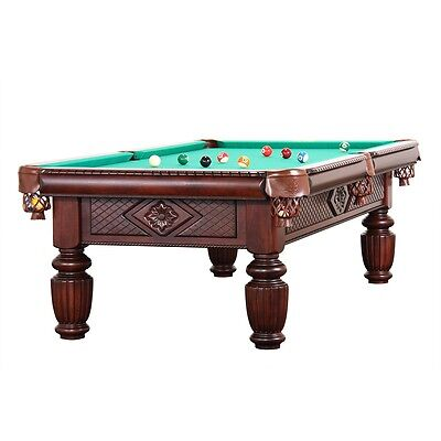 9 FT. PROFESSIONELLE Pool Billard Table ardoise Model Apollo ...