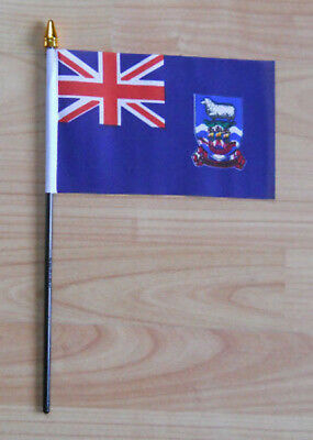 Falklands Country Hand Flag - small