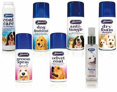 Dog & Cat Grooming Aid Spray Dry/Foam Shampoo Perfume Finish Velvet Anti-Tangle