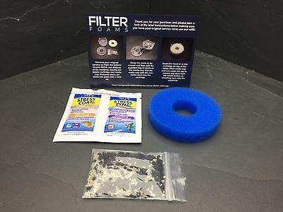 BiORB COMPATIBLE FILTER SERVICE KIT REFILL REPLACEMENT INC STRESS COAT & ZYME