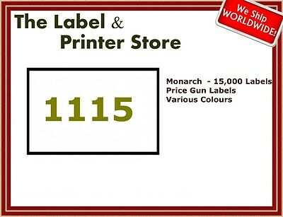 Genuine Monarch paxar Avery 1115 Price Gun Labels