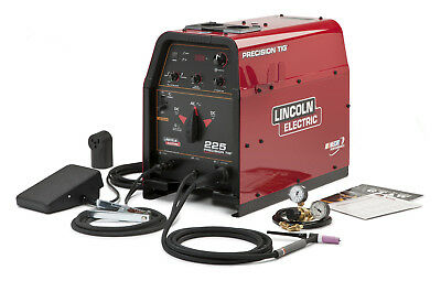 Lincoln Precision TIG 225 Welder Ready Pak K2535-1