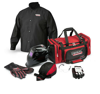 Lincoln Traditional Welding Gear Ready-Pak K3105 Size Medium