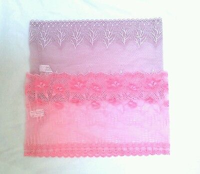 Sheer Stretch Lace Tube Top Crop Strapless Bandeau Bra One Size fits S M L NEW