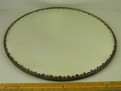 Antique Plateau Ornate Victorian Footed Vanity Beveled