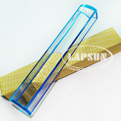 """8"""" 200mm Raised Domed Bar Glass Magnifier 5X Optical Book Map Read Loupe Reader"""
