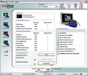 modiag ultimate OBD2 Profisoftware Gasanlagen Einstellung 3D Kennfelder