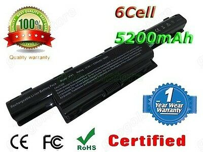 Laptop Battery For Acer TravelMate 5742Z 5742ZG 5744 AS10D51 Aspire 7251 7741 6C