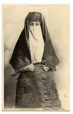 Egypt. Turkiste Woman.femme Turque.turkish Woman.
