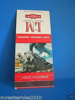 L & M Litchfield And Madison Railway Match Cover