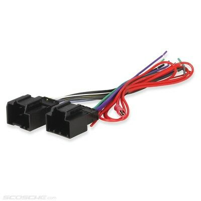 GM Car Stereo CD Player Wiring Harness Wire Aftermarket Radio Install Plug