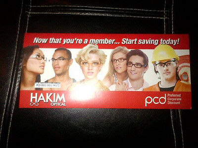 Hakim Optical $50 Gift Card with a 10% OFF Card Included that you can use over !