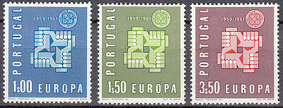 # Stamps Europe Europa CEPT Portugal 1961 Mi 907-09 **