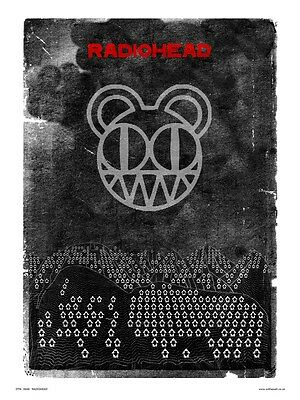 Radiohead Poster Print by Wig