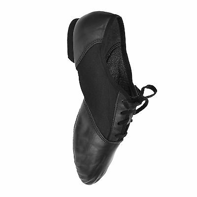 Capezio '458' Jazz Shoes - Split Sole Leather/Mesh *SALE - LIMITED TIME ONLY*
