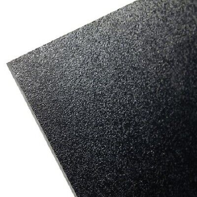 "5 Pack Black Kydex T Plastic Sheet 0.060"" X 12"" X 24"" Vacuum Forming"