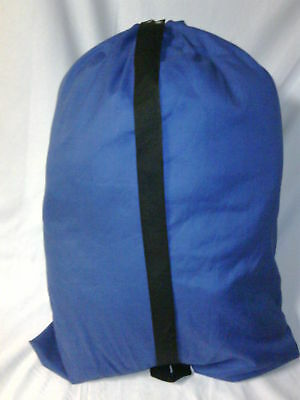HEAVY DUTY 30x40 CANVAS LAUNDRY BAG  WITH STRAP   *****Made in USA*****