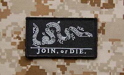 JOIN or DIE Patch Black NSWDG SEAL DEVGRU ST6 US Navy Special Warfare VELCRO®
