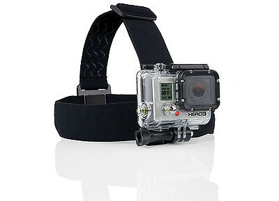 Elastic Adjustable Head Strap Mount GoPro HERO 2 3 4 5 Camera Belt Accessories
