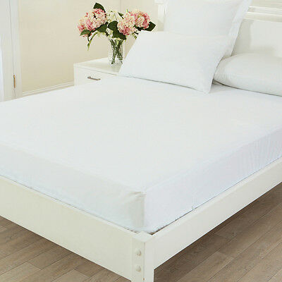 Single/KS/Double/Queen/King Fitted Waterproof & Anti-Allergy Mattress Protector