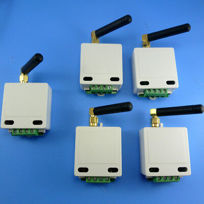 5PCS RS485 Wireless Transceiver Module Replace Wired 485 BUS UART RS232 RF 433M