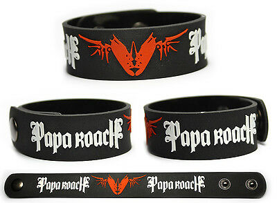 PAPA ROACH Rubber Bracelet Wristband The Connection Metamorphosis