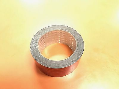 """50 Ft Conspicuity Reflective Tape DOT Approved 11"""" Red 7"""" White 50 Feet"""