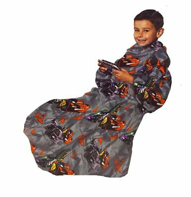 Cars Road Signs (Lightning McQueen)Blanket/SLEEVES Comfy Throw Kids FREE US SHIP