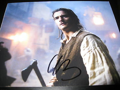 ORLANDO BLOOM SIGNED AUTOGRAPH 8x10 PHOTO PIRATES OF THE CARIBBEAN IN PERSON COA