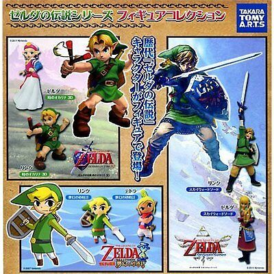 RARE NEW Nintendo The Legend of Zelda Figure SET 6 kinds Takara Tomy FS