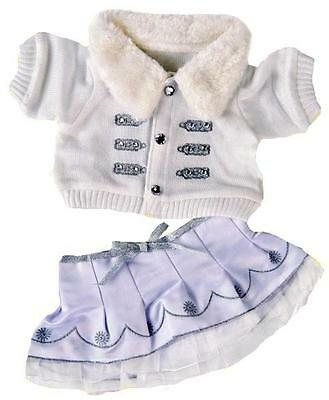 """15"""" Christmas Winter Silver Outfit Outfit Fits 15"""" Build A Bear"""