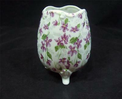 INARCO OVAL FOOTED VASE - E4985 - MADE IN JAPAN