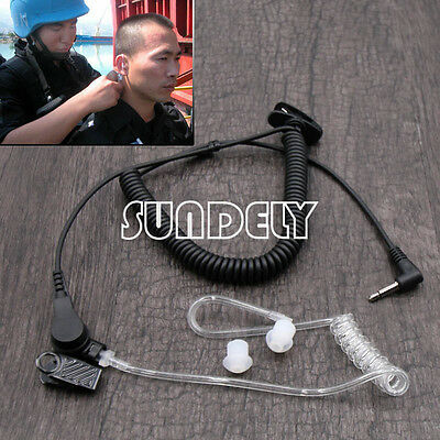 Police Style Earpiece Headset for Two Way Radio [3.5mm Jack]