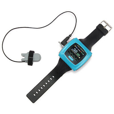 HOT!! CE FDA Wrist Pulse Oximeter wearable Daily and Overnight sleep CMS50F,24hr