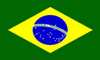 Brazil Boat / Courtesy Country Flag.