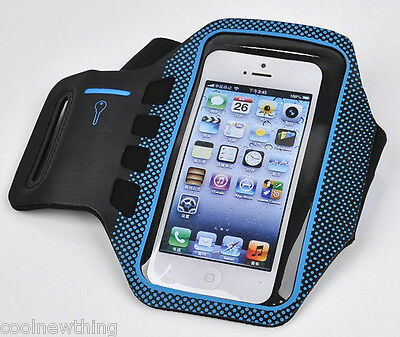 New Running GYM Sport Armband Holder Arm Strap Pouch Case For iPhone 5 5S 5C