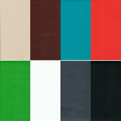 FAUX LEATHER / LEATHERETTE UPHOLSTERY FABRIC MATERIALBy the Meter