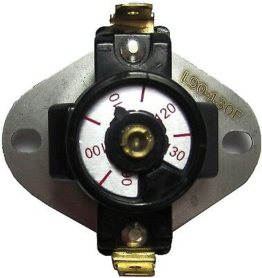 New Fireplace Blower Thermostat Temperature Switch Fan Gas