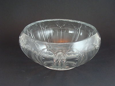 "Vintage Clear Glass Bowl / Dish Starburst on Bottom 6""D"