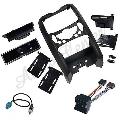 Kit Dd 235 + C 172 + Ant 11 Mascherina Autoradio 2 Din Mini Cooper 07>