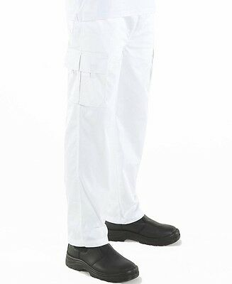 Elasticated Cargo Pants Unisex Chef or food Prep for  Restaurants Bars