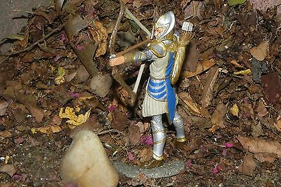 Retired Schleich Medieval Griffin Knight with Bow Figurine