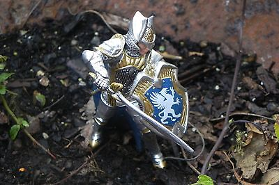 Medieval Griffin Knight with Bow Figurine