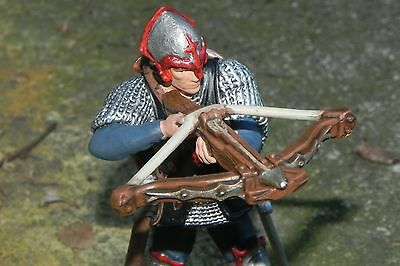 Medieval Dragon Knight with Crossbow Figurine