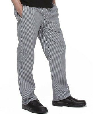 Elasticated Chefs Pants Unisex Chef or food Prep for Restaurants Bars